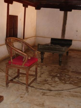 Chinese chair and cot