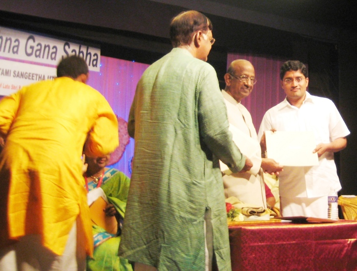 Ramkumar KGS Award